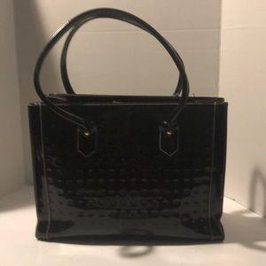 Arcadia Parenrt Leather Tote Bag